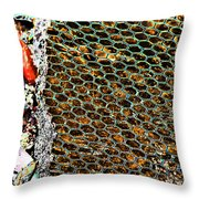 Checkered Past Throw Pillow