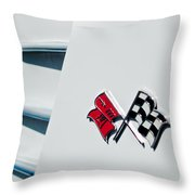 Checkers Throw Pillow by Bill Gallagher