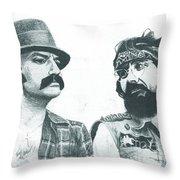 Cheech And Chong Throw Pillow