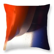 Cheeky But In Patriotic Colous  Throw Pillow