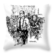 Cheer Up, Jimbo - It's Only A Matter Of Time Throw Pillow