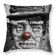 Cheerful Charlie  Throw Pillow