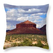 Cheesebox Mesa Throw Pillow