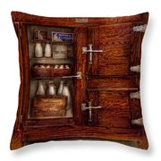 Chef - Fridge - The Ice Chest  Throw Pillow