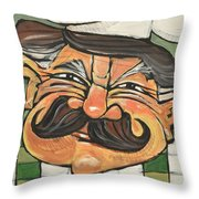 Chef Guido Throw Pillow