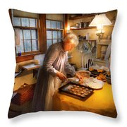 Chef - Kitchen - Coming Home For The Holidays Throw Pillow