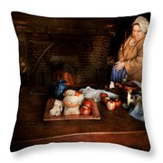Chef - Kitchen - Today's Menu  Throw Pillow by Mike Savad