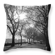 Chelsea Embankment London 2 Uk Throw Pillow
