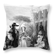 Chelsea Hospital, 1682 Throw Pillow