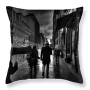 Chelsea Rain Throw Pillow