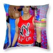 Chelsea Window Throw Pillow