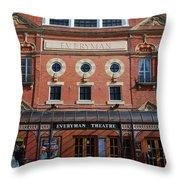 Cheltenham Theatre Throw Pillow