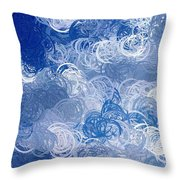 Chem Circles Throw Pillow