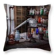 Chemist - My Retort Is Better Than Yours  Throw Pillow