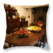 Chenonceau Kitchen  Throw Pillow