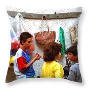 Cherda Children Throw Pillow