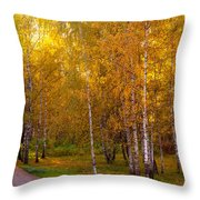 Cherished By Sun Throw Pillow