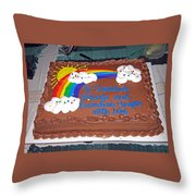 Celebration To Cherished Friends Throw Pillow