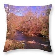 Cherokee River Throw Pillow