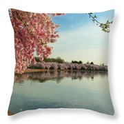 Cherry Blossoms 2013 - 084 Throw Pillow
