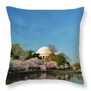 Cherry Blossoms 2013 - 098 Throw Pillow