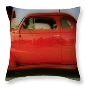 Cherry Bomb   Hdr Throw Pillow