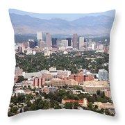 Cherry Creek In Denver Throw Pillow