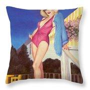 Cherry Hill New Jersey Throw Pillow