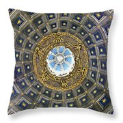 Cherubic Cupola Throw Pillow