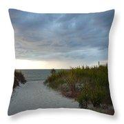 Chesapeake Bay Storm Throw Pillow