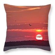 Chesapeake Sunset 1 Throw Pillow