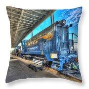 Chesapeake Western Baldwin Ds-4-4-660 No 662 Throw Pillow