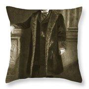 Chester A. Arthur Throw Pillow
