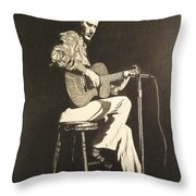 Chet Adkins 1975 Throw Pillow