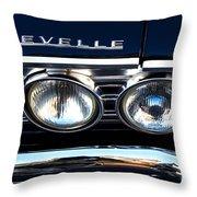 Chevelle Headlight Throw Pillow