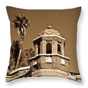 Cheveron Domed Tower 2 Throw Pillow