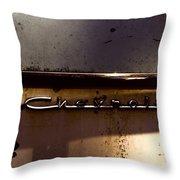Chevrolet 3 Throw Pillow
