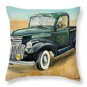 Chevrolet Art Deco Truck Throw Pillow