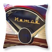 Chevrolet Belair Nomad Dashboard Throw Pillow