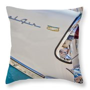 Chevrolet Bel-air Taillight Throw Pillow