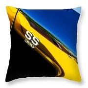Chevrolet Chevelle Ss 396 Side Emblem Throw Pillow