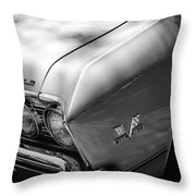 Chevrolet Chevelle Ss Grille Emblems Throw Pillow