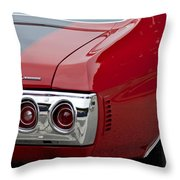 Chevrolet Chevelle Ss Taillight Emblem 3 Throw Pillow