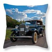 Chevrolet Confederate Ba Phaeton 1932 Throw Pillow