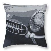 Chevrolet Corvette 1954 Throw Pillow