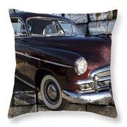 Chevrolet Deluxe Car Throw Pillow