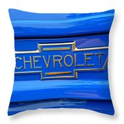 Chevrolet Emblem Throw Pillow