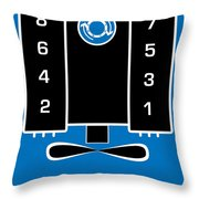 Chevrolet Firing Order Throw Pillow by Gabe Arroyo