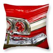 Chevrolet Impala Classic Rear View Throw Pillow
