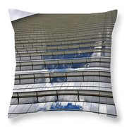 Chevron Corporation Houston Tx Throw Pillow by Christine Till